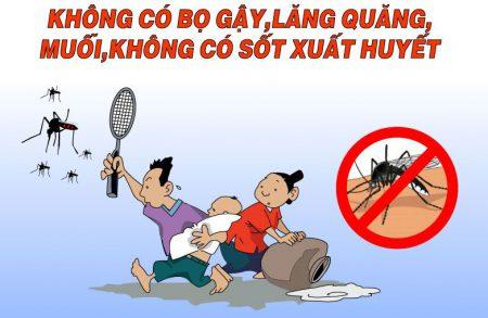 Chính quyền làm tốt công tác tuyên truyền cho người dân biết cách phòng, chống bệnh sốt xuất huyết